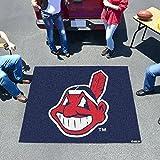 Fan Mats 6375 MLB - Cleveland Indians 5' x 6' Tailgater Mat / Area Rug