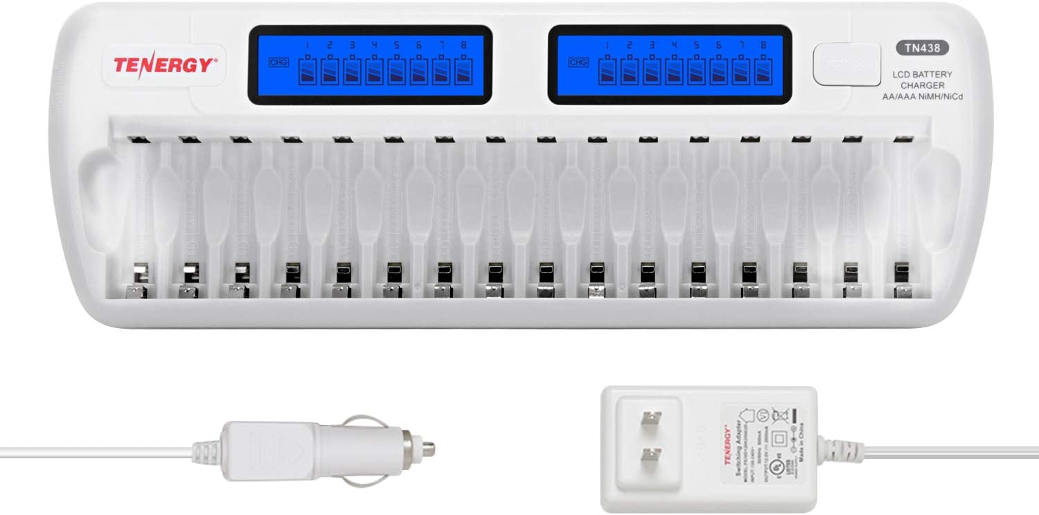 Tenergy 16-Bay Battery Charger