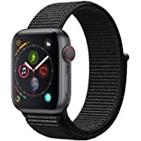 Apple Watch Series 4 GPS & Cellular 40mm Smartwatch (Space Gray Aluminum Case with Black Sport Loop)