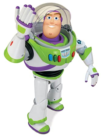 amazon com toy story karate action buzz lightyear toys games