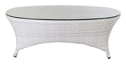 Amazon Com Control Brand Danica Outdoor Coffee Table With Clear