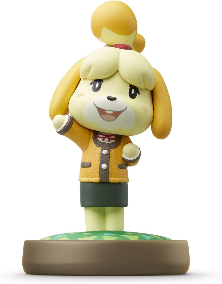 Amazon com: Nintendo Isabelle Winter Outfit amiibo