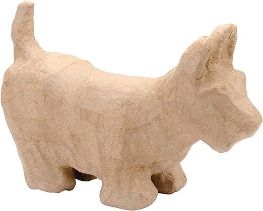 Decopatch LA008 Decoupage Papier Mache Animal Large Size Jack Russell Dog