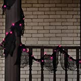 Totally Ghoul Lighted Garland Gauze- Orange Lights