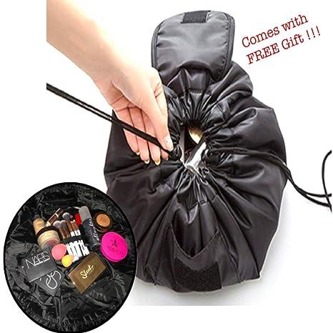 Bolsa de cosméticos y Maquillaje con cordón y organizador ...
