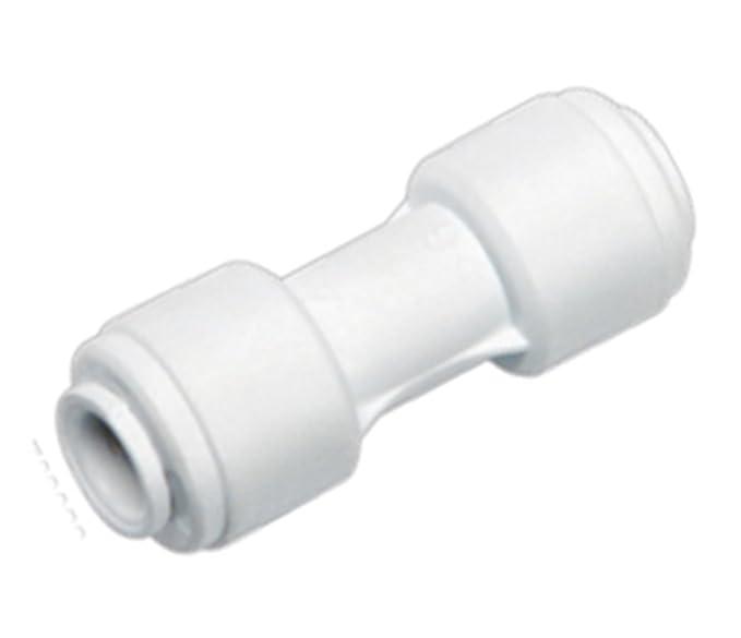 Schlauchverbinder K/ühlschrankschlauch gerade 1//4 Zoll Umkehrosmose-Schlauch 6,4/mm