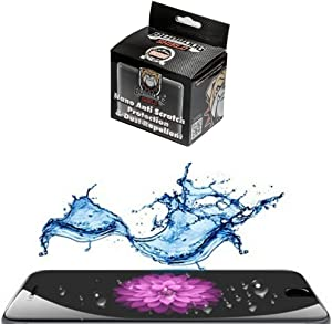 Liquid Screen Protector Family Size Bulldog Shield, Nano Anti-Scratch Protection and Dust Repellent for All Phones Tablets & Touch Screens Invisible Shield No Scratches 2-4 Devices