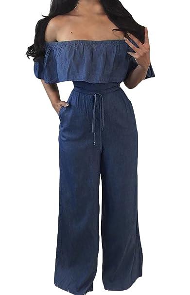 Pantalones Aladin Verano Elegantes Moda Barco Cuello Monos ...