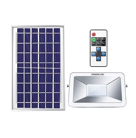 H-XH Solar Foco Proyector LED,IP65 A Prueba De Agua Al Aire ...