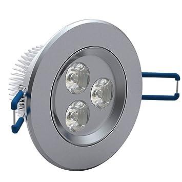 Brandneu 12x 3W LED Spot Einbauleuchte Warmweiß Einbau Strahler Set Decken  FE31