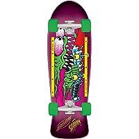 Santa Cruz Slasher Cruzer 80s Complete Skateboard,10.1in x 31.13in Assorted