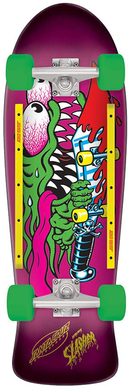 Amazon.com: Santa Cruz Slasher Cruzer 80s - Tabla de skate ...