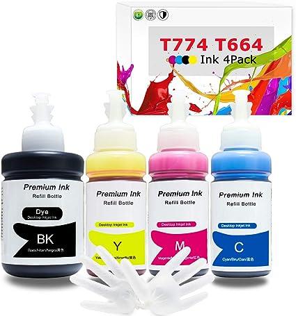 Amazon.com: Botella de tinta de repuesto para impresora ...