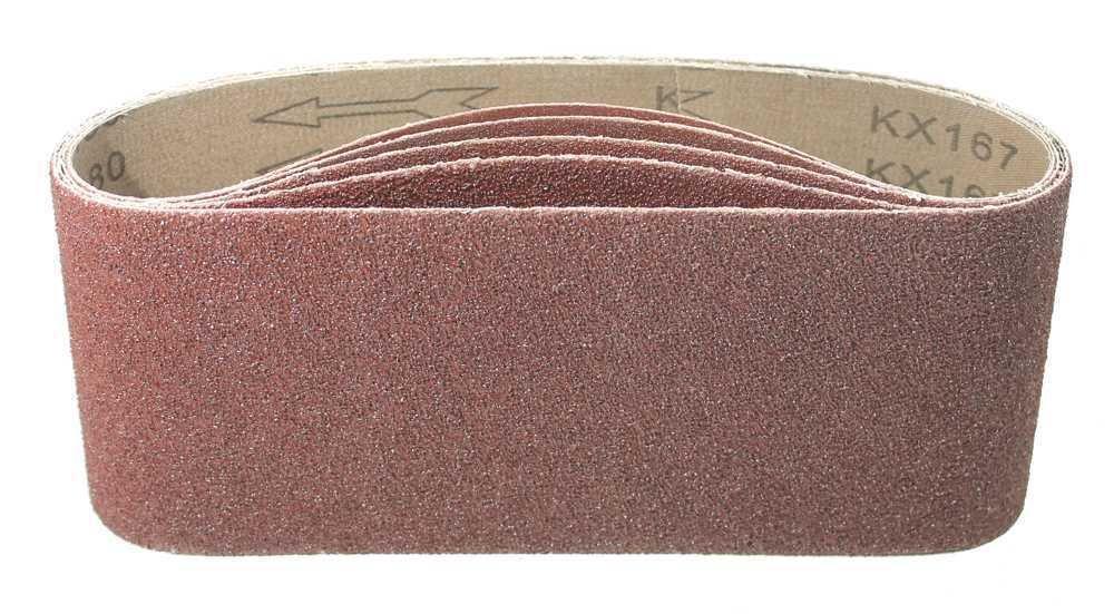 25 Schleifb/änder gemischt K40//60//80//120//180 Schleifband f Bandschleifger/äte 75x533 mm │Schleifbandset │ P-D-W/®