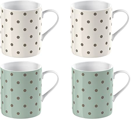 Mint Green /& White Cup /& Mug Set
