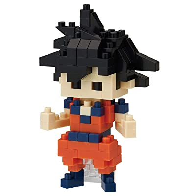 Nanoblock Dragon Ball Z Goku Building Kit: Toys & Games