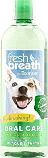 product image for TropiClean Fresh Breath Plaque Remover Pet Water Additive 33.8 Ounce - 2 Pack
