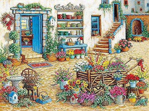 Fancy Flower Shop 275 Piece Easy Handling Jigsaw Puzzle