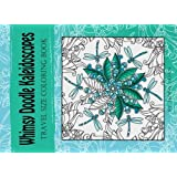 Whimsy Doodle Kaleidoscopes: travel size mini coloring book (Volume 1)