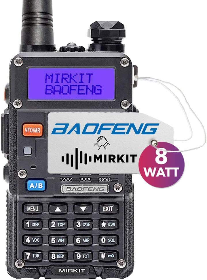 Mirkit Radio Baofeng UV-5R MK5 8W MP Max Power 2019 1800 mAh Li-Ion Battery Pack, Baofengradio corp.