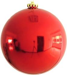 30cm large christmas ball christmas shiny balls large christmas balls ornaments red - Large Christmas Balls