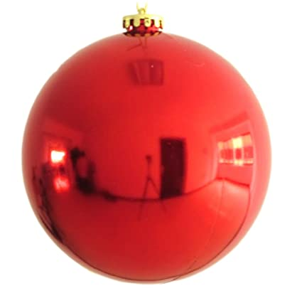 30cm Large Christmas Ball Shiny Balls Ornaments Red