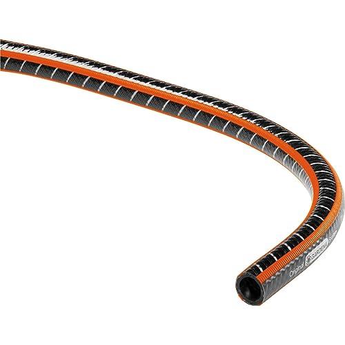 Gardena Comfort Flex Schlauch Formstabiler, Flexibler Gartenschlauch mit Power-Grip-Profil, Spiralgewebe, 25 bar Berstdruck, ohne Systemteile, 25 mm, 1 Zoll, 25 m