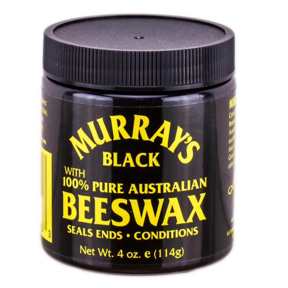 Murray's Beeswax, Black, 4 Ounce