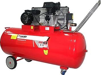 Compresor De Aire Con Correa 100Lt 2,75Hp Mofofásico: Amazon.es: Bricolaje y herramientas