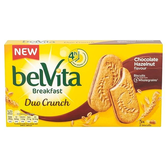 eb1ea08c4c69ee Belvita Breakfast Biscuits Duo Crunch Chocolate Hazelnut