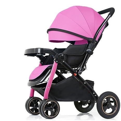 ZGP &Cochecito de bebé Carro de bebé reclinable Ligero ...