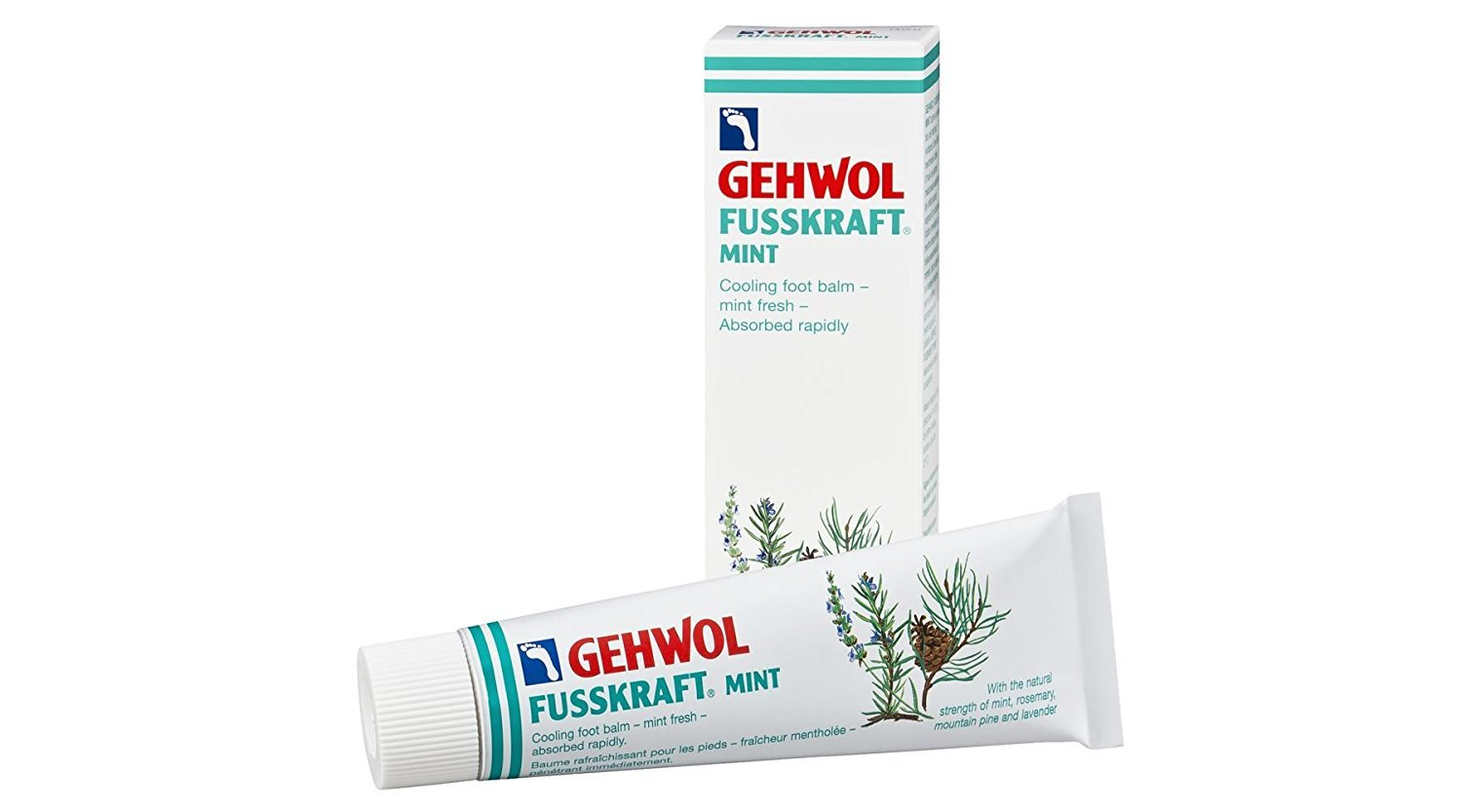 GEHWOL Fusskraft Mint 75ml Gewol