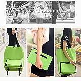Hope123 Portable Foldable bag &Wheeled Shopping