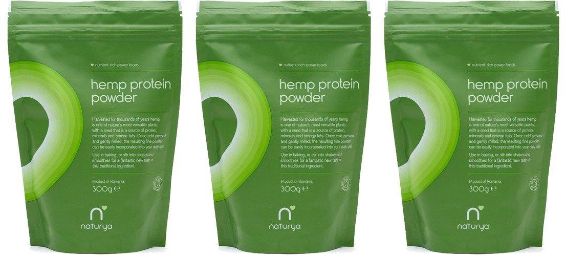 (3 PACK) - Naturya - Org Hemp Protein Powder | 300g | 3 PACK BUNDLE
