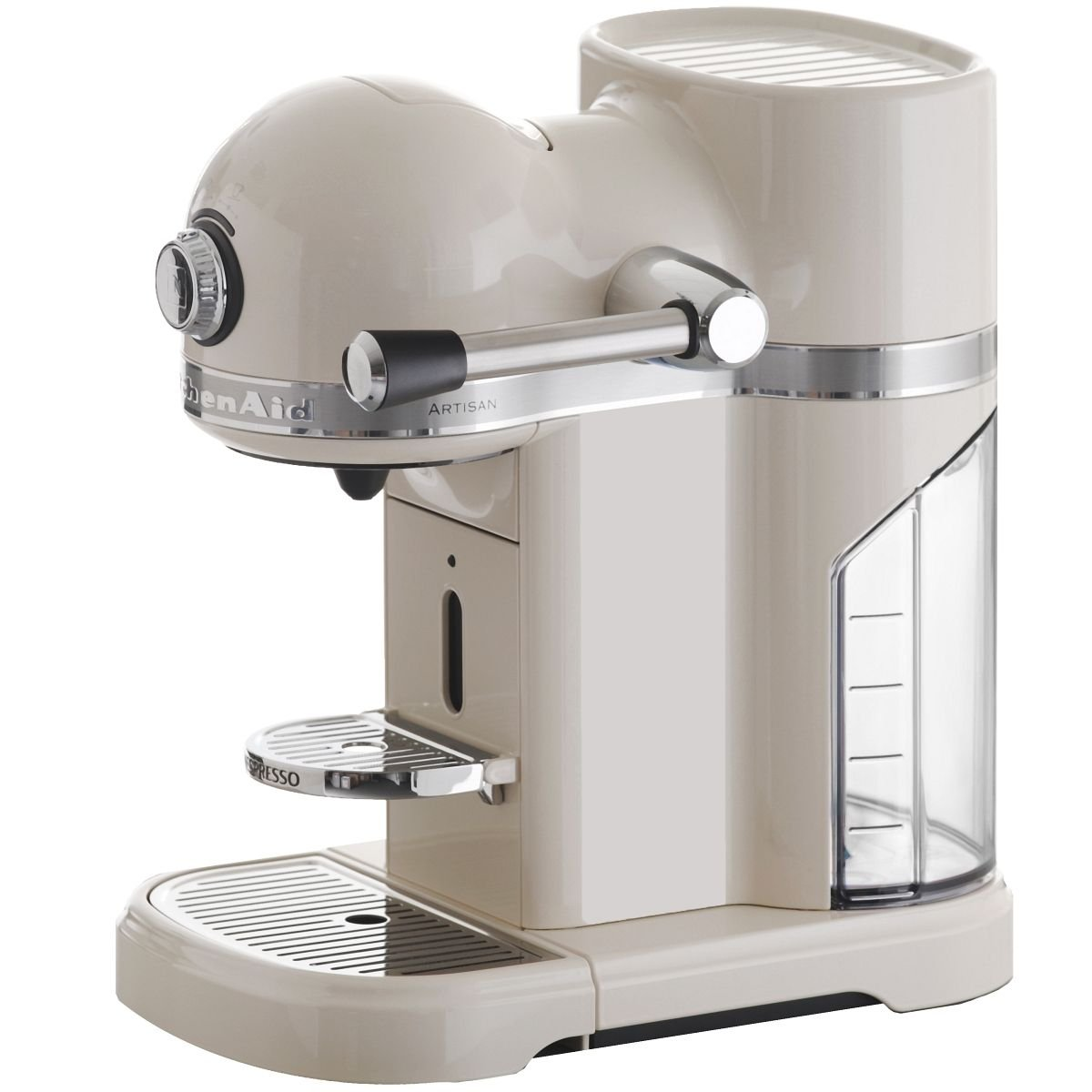 KitchenAid Artisan - Cafetera de cápsulas, color crema: Amazon.es ...