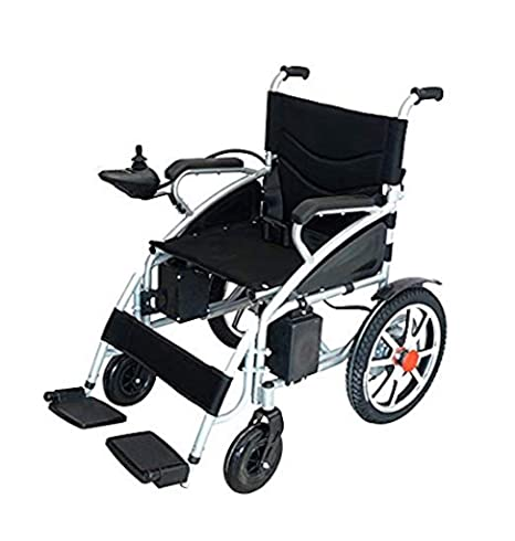 Amazon.com: 2019 New Majestic Buvan Electric Wheelchairs Silla de Ruedas Electrica para Adultos FDA Approved Transport Friendly Lightweight Folding Electric ...