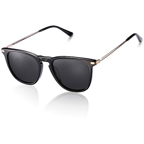 TSEBAN Gafas de sol polarizadas mujer Protección UV400 Gafas ...