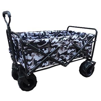 Carro De Playa Marco De Acero Robusto Plegable Portátil Lona Camping Wagon Para Jardín Al Aire Libre Picnic,16: Amazon.es: Hogar