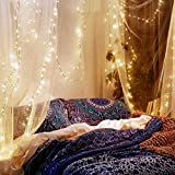 Canopy Mosquito Net Bundle With Fairy Lights 33ft