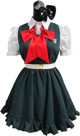 Super Dangan Ronpa Danganronpa Sonia·Nevermind Green Dress Cosplay Costume