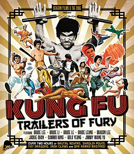 Kung Fu Trailers Of Fury (Blu-ray) (The Man With The Golden Arm Kung Fu)