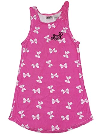 a1d6eede7e JoJo Siwa Girls Swim Cover Up Sizes 4-12 (XS 4/5). Roll over image to zoom  in. Jojo Siwa Signature Clothing