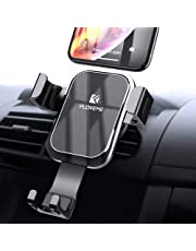 Gravity Car Phone Mount FLOVEME Cell Phone Holder for Car Hands Free Auto Lock Air Vent Car Phone Holder Compatible iPhone Xs MAX X XR 8 7 6 Plus Samsung S9 S8 Plus S7 S6 Edge Note 8 9 LG Google etc