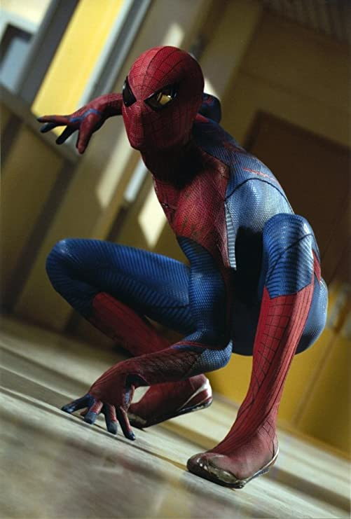 Amazon Com Andrew Garfield In A Spiderman Costume Ready To Attack Photo Print 24 X 30 Posters Prints