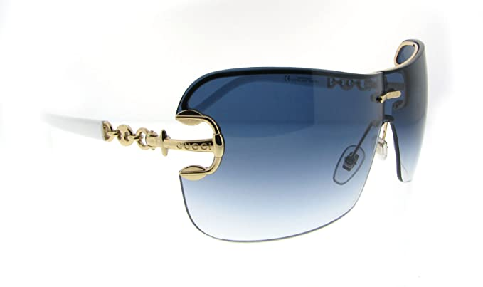 13bdc6350a Gucci GG 2771 S J5G Gold White Gg2771 Sunglasses  Amazon.co.uk  Clothing