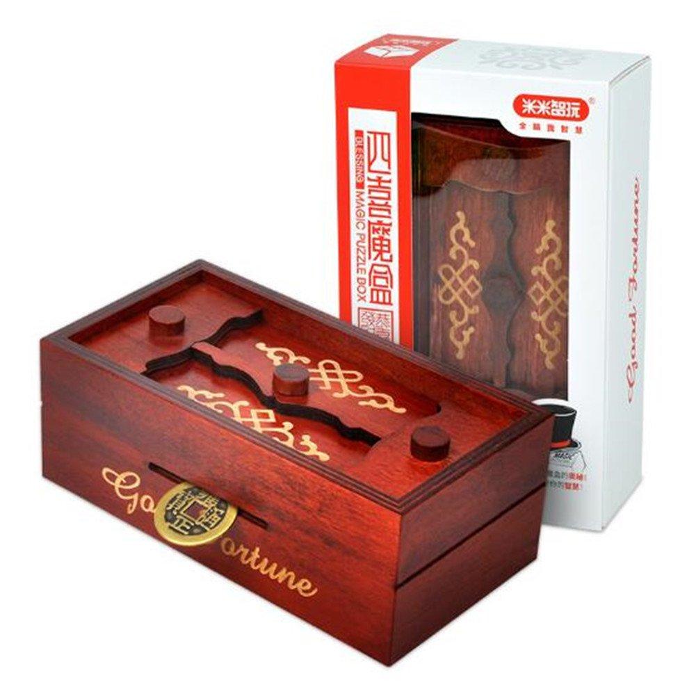 Magic Box Wooden Puzzle Box Special Unique Gift Box