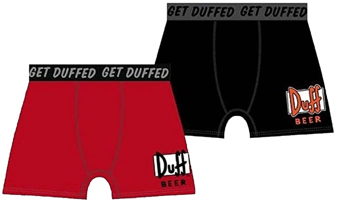 Boxer Duff Beer The Simpsons negrohttps://amzn.to/35Sg3qA