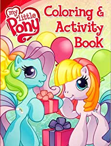 My Little Pony Coloring Book and Activity - Rainbow Dash & Toola-Roola