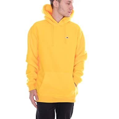 c43256110 Tommy Hilfiger - Hoodie - TJM Tommy Classics P Spectra Yellow (XS):  Amazon.co.uk: Clothing