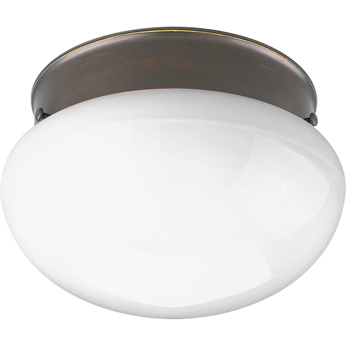 Progress Lighting P3408-2030K9 1-17W LED 3000K Flush Mount, Antique Bronze - - Amazon.com
